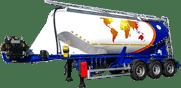 Напівпричепи Guven для харчових сипучих вантажів