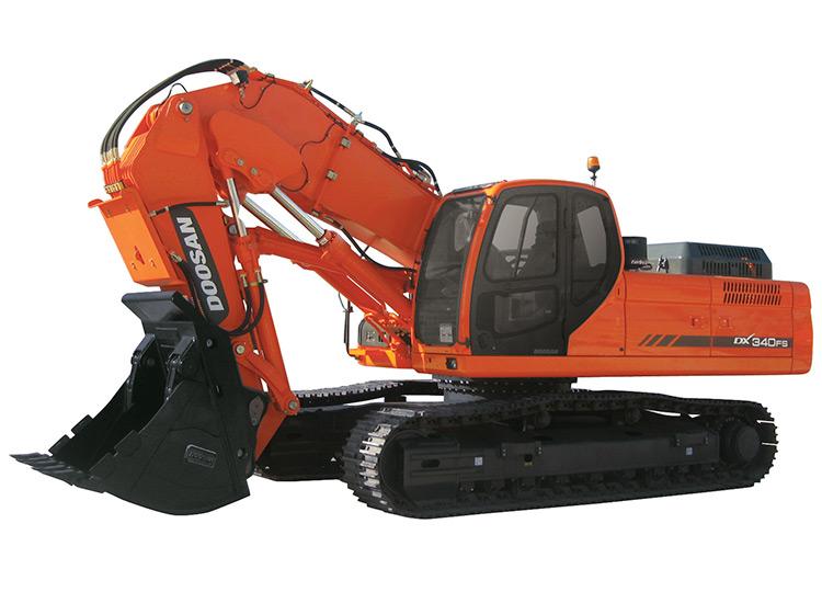 Экскаватор с прямой лопатой Doosan DX420FS