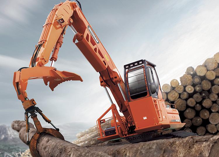 Перегружатель леса Doosan DX300LL