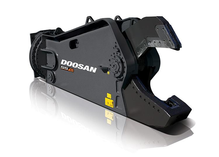 Гидравлические ножницы Doosan SS34