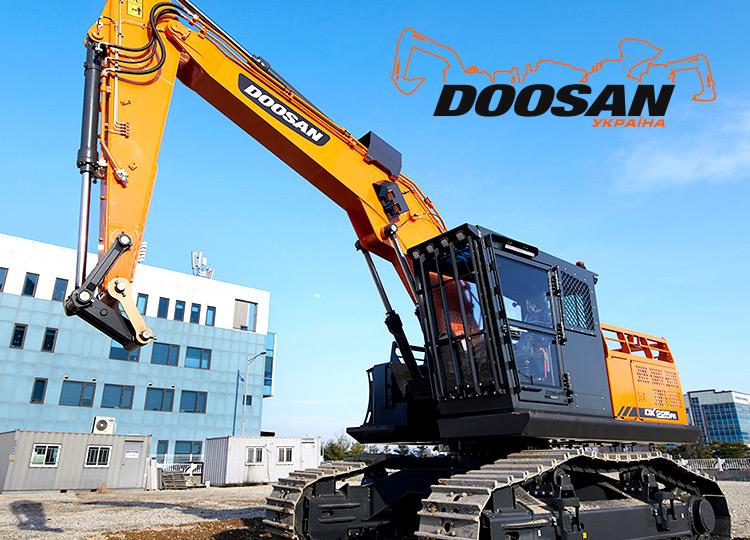 Новая лесозаготовительная машина - Doosan DX225FM